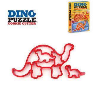 Hog Wild Dinosaur Puzzle Cookie Cutter Nine Dino Shapes Kitchen Fun