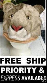 COUGAR HAT wsu halloween costume WILDCAT puma mountain lion cat mascot