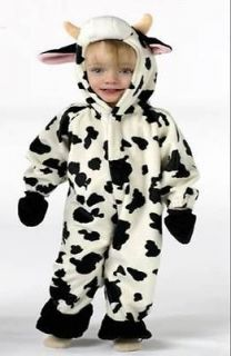 Plush Moo Cow Farm Animal Toddler Infant Child Costume