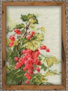 Riolis Counted Cross Stitch Kit RED CURRANT Sale # 1060