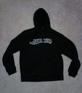 Newly listed Mens Black Burton Hoodie, XL, EUC