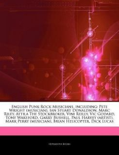 English Punk Rock Musicians, Including Pete Wright (Musician), Ian