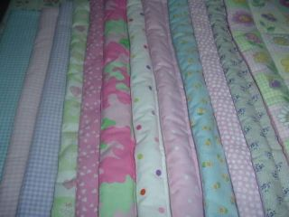 Baby Doll Bedding Blanket Set Crib Set Flowers Gingham