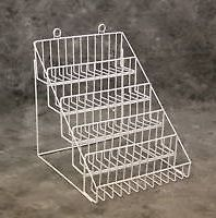 One (White) 5 Tier Multi Purpose Counter Top Display Rack