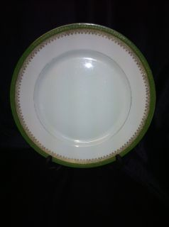 Vintage Imperial Crown China Austria (8) Dinner Plates c. 1902