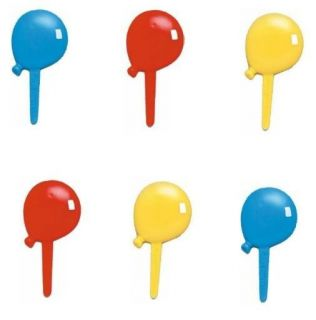 Balloon Cupcake Picks Topper Decoration Baby Shower Party Birthday