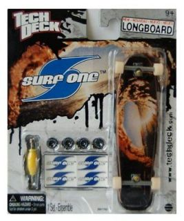 TECH DECK SURF ONE LONGBOARD SKATEBOARD 120MM FINGERBOARD