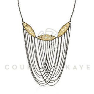 Courtney Kaye Annex Filigree 14k Statement Necklace