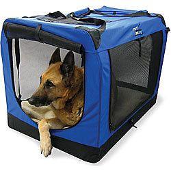 NIB DOCKDOGS EXTRA LARGE PORTABLE DOG CRATE