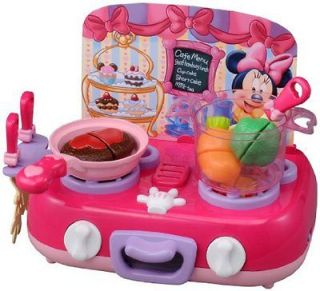 Minnie Mouse Cooking Kitchen Playing House Japanese Toy New