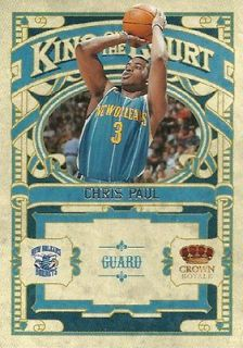 2009 10 Crown Royale King on the Court CHRIS PAUL Mint Panini