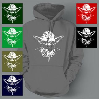 DJ YODA trance STAR WARS Club Party FUNNY Hoodie