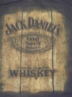 JACK DANIELS GRAPHIC T SHIRT SIZE XL BLACK JACK DANIELS old No 7 FREE