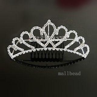 Wedding Swarovski Crystal Hair Band Tiara Crown 0035d HOT Sale