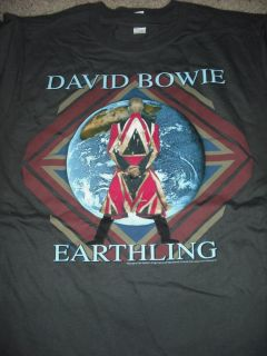 DAVID BOWIE Earthling T Shirt **NEW