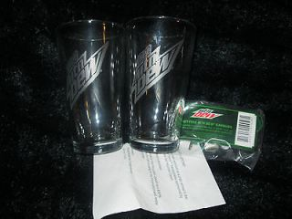 Newly listed PAIR OF DIET MOUNTAIN DEW GLASSSES WITH FREE EARHONES ALL