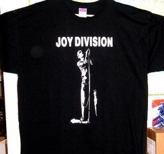 JOY DIVISION Ian Curtis t shirt YL S M L XL  punk industrial emo Nick