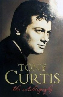 Tony Curtis   Curtis Tony   Hard Cover   Auto Biography/Ente rtainment