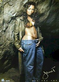 JANET JACKSON ~ ALL FOR YOU POSTER 24x34 Music Pinup