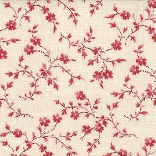 La Belle Fleur 13636 18 Rouge priced per ½ yd French General Moda