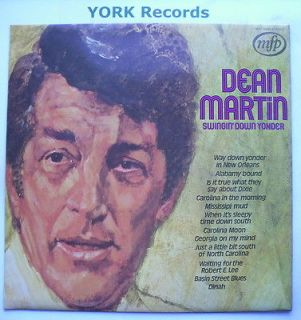 DEAN MARTIN   Swingin Down Yonder   Excellent Condition LP Record MFP