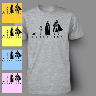 Evolution of the Darkside Funny Vader DARTH STAR WARS Mens T Shirt