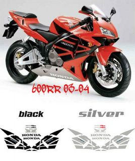 Honda CBR 600rr Full Decal kit Replica Decals Stickers Graphics You