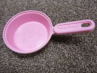 Fisher Price Fun with Food Magic Kitchen stove oven pink frying pan