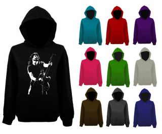 Mens Dave Grohl Foo Fighters Guitar Rock Icon Hoodie NEW XS XXL