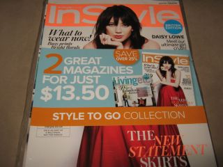 InStyle UK British Edition LIVING ETC Homes Daisy Lowe Skirts NEW