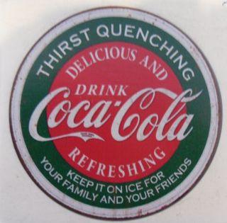 Vintage Coca Cola sticker decal 3 !!
