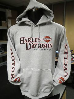 New Orleans Harley Davidson Steel Forged In Free Hoodie. 5642 H45C