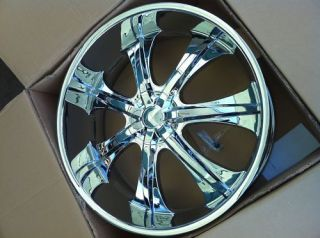28 CHROME RIMS TIRES 5X139/135 DODGE RAM FORD LINCOLN NAVIGATOR 275