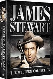 JAMES STEWART: THE WESTERN COLLECTION (6 Discs) DVD New