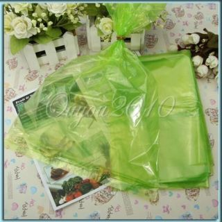 20 Vegetable Fruit and Produce Green Bags Reusable Life Extender Keep