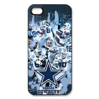 dallas cowboys iPhone 5 hard plastic black case cover f03710