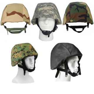Military Kevlar Helmet Covers (Camouflage Tactical Helmet Shell, Army