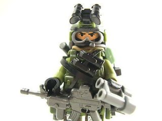 Lego custom   Marine Navy Delta trooper Army Soldier Military JUNGLE
