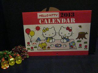 Sanrio Hello Kitty Wall Calendar @2013