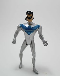 Nightwing Batman Animated Series Silver Costume