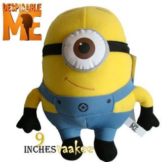 Despicable Me Minions Stewart Plush Toy Stuffed Animal 9 3D Eyes