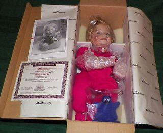 McMemories Sharing A Good Time Dianna Effner Ashton Drake Doll COA