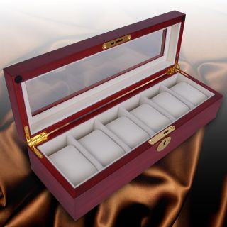 wood watch box in Jewelry Boxes & Organizers