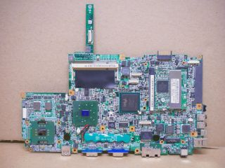 Dell Latitude D400 Laptop Motherboard T0400 SL6F5 Intel CPU Wireless