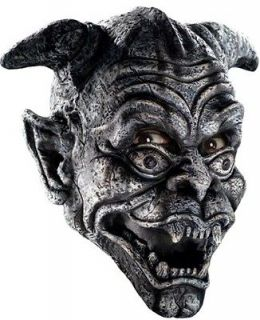 Adult Scary Demon Monster Halloween FULL Costume Mask