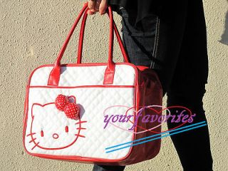 Hello Kitty Red & Whitetote bag handbag