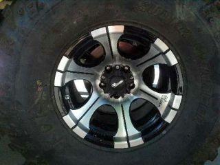 36x13.5x15 super swamper IROK tires w/ Dick Cepek Rims