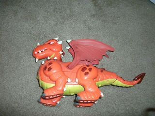 Imaginext Dragon,Dinosaur,Walking,Makes Sounds,Works Great