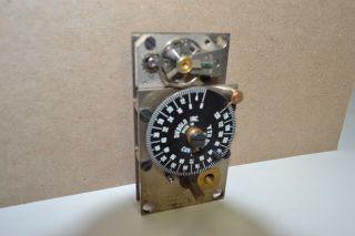 DIEBOLD 14648 TIME LOCK BANK VAULT 120HR SAFE TIMER MOVEMENT CLOCK #61