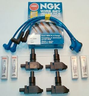 OE MAZDA RX8 MAZDA IGNITION COIL COILS NGK SPARK PLUG NGK WIRE SET
